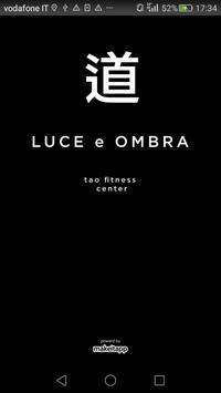 LUCE e OMBRA Tao Fitness poster