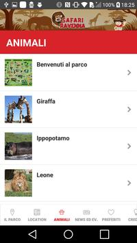 Parco Safari Ravenna apk screenshot