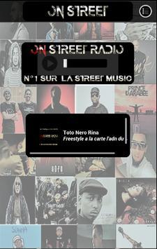 ON STREET RADIO poster
