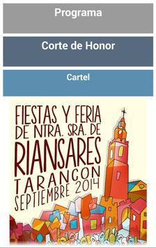 Tarancon en Fiestas 2014 poster