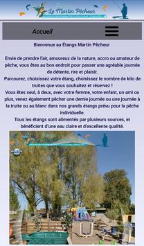 Les étangs Martin Pêcheur poster