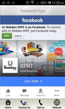 Ur Webdev XPRT screenshot 4
