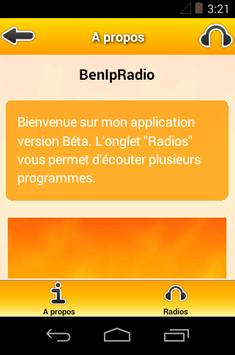 BenIpRadio apk screenshot