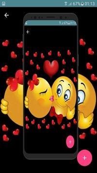 Love Emoticons😍 Adult Emojis gif screenshot 5
