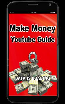 Make Money From Youtube Guide poster