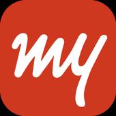 MakeMyTrip-Flight Hotel Bus Cab IRCTC Rail Booking icon