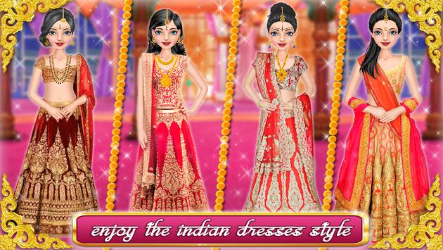 Indian Wedding Girl Fashion Salon poster