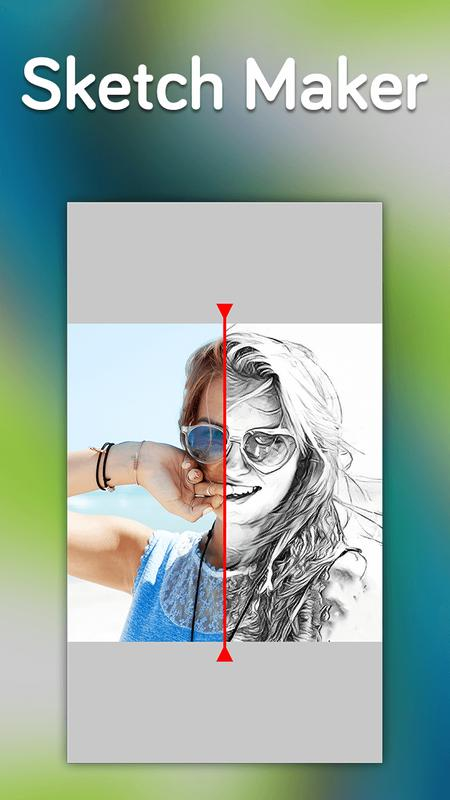 Photo sketch maker pencil sketch effect poster