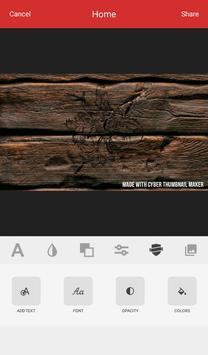 Cyber Thumbnail Maker screenshot 5