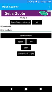OBDII Reader (Unreleased) apk screenshot