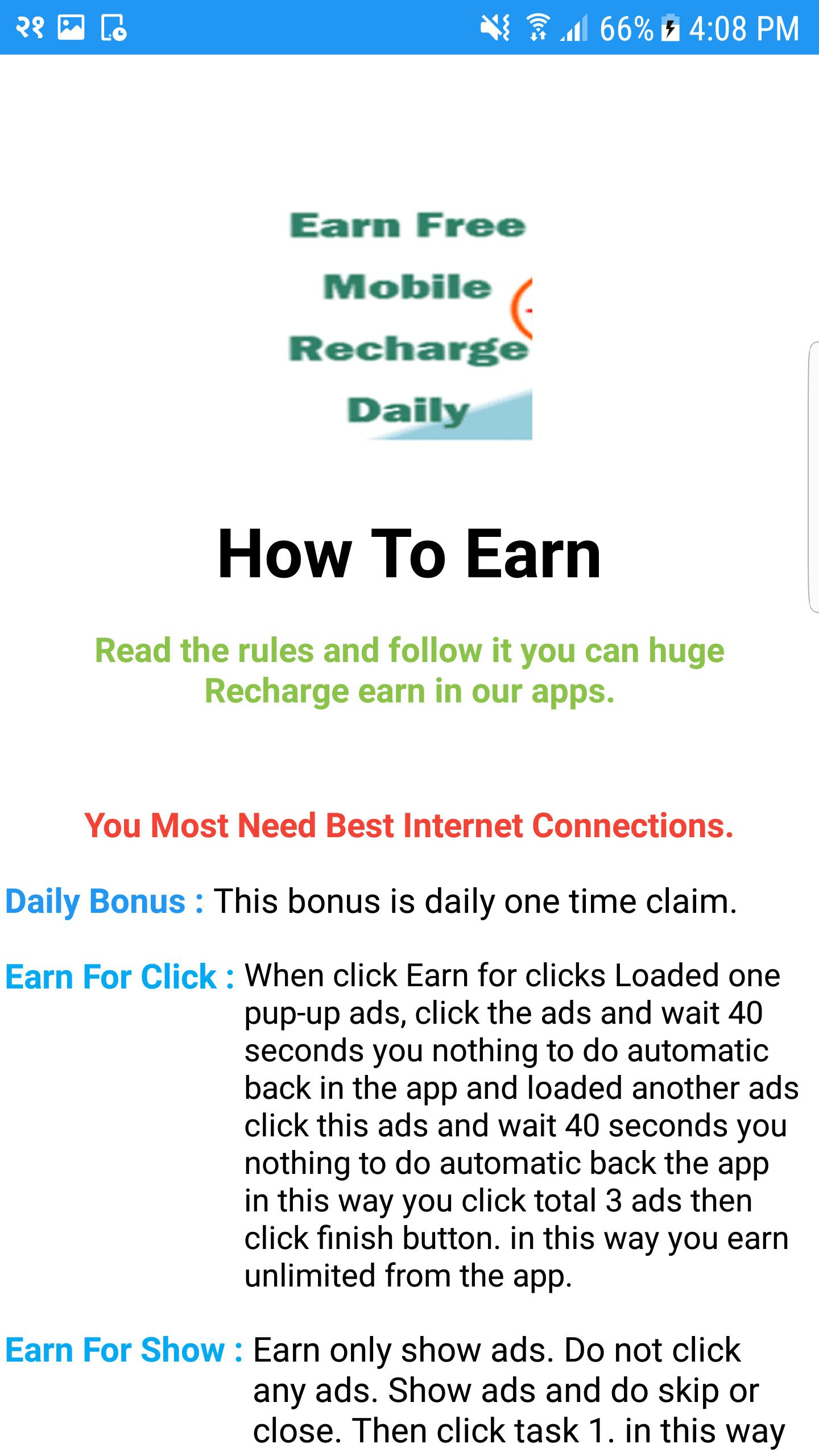 Earn Free Recharge Nepal for Android - APK Download