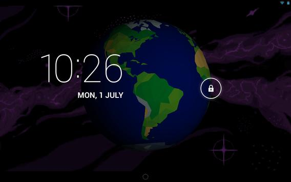 Earth Live Wallpaper UFO X-Com apk screenshot