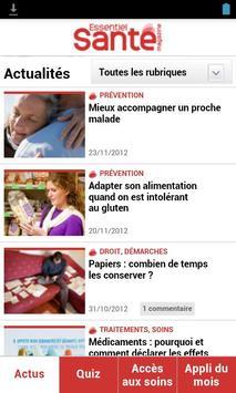 Essentiel Santé Magazine poster