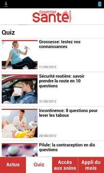 Essentiel Santé Magazine apk screenshot