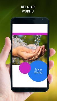 Belajar Wudhu poster