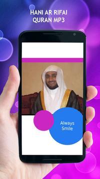 Hani Ar Rifai Quran MP3 poster