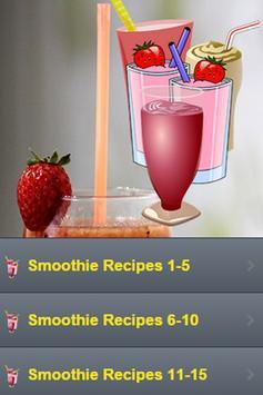 Smoothie Recipes apk screenshot