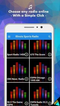 Illinois Sports Illinois App poster