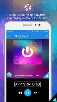 Radio Online 100.1 Brasil screenshot 2