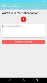Motivation Alarm screenshot 4