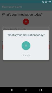Motivation Alarm screenshot 5