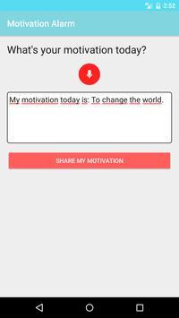 Motivation Alarm screenshot 6