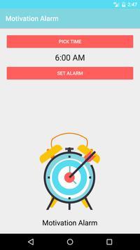 Motivation Alarm screenshot 1