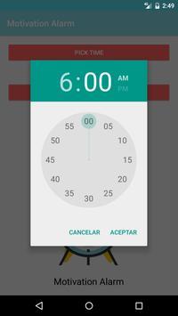 Motivation Alarm screenshot 2