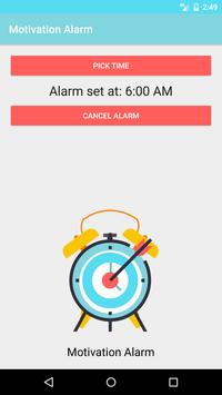 Motivation Alarm screenshot 3