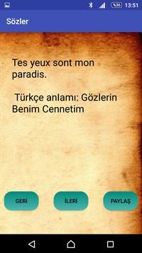 French love words apk screenshot