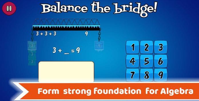 Math Balance : Grade 1 - 5 Learning Games For Kids APK Download ...