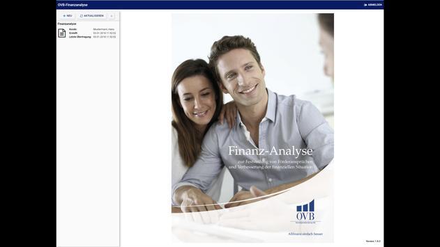 OVB Finanzanalyse screenshot 1