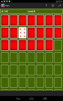 Pairs Memory Game apk screenshot