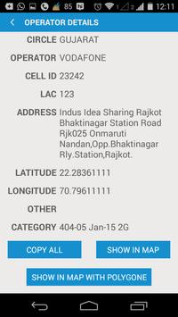 Cell Locator Demo-MAKSR Finder apk screenshot