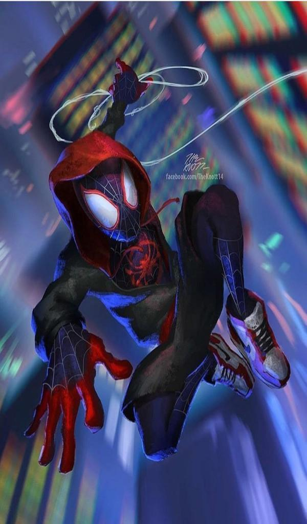 Miles Morales Spiderman Hd Wallpaper For Android Apk Download