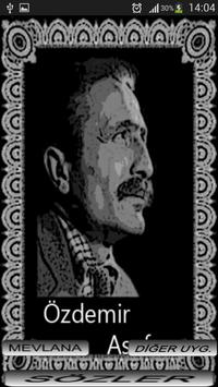 ÖZDEMİR ASAF SÖZLERİ poster