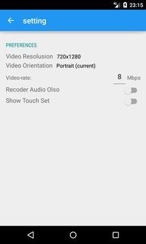 Record video call apk screenshot