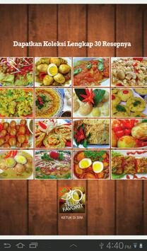 30 Kreasi Telur Favorit Lite apk screenshot
