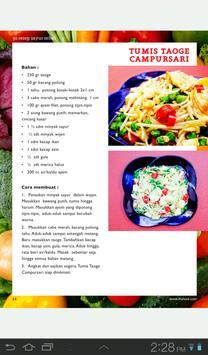 30 Resep Sayur Sehat Lite apk screenshot