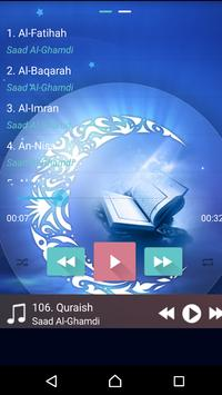 Al Qu'ran MP3 Player القرآن Cartaz