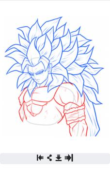 how to draw dragon ball z easy apk download free entertainment app