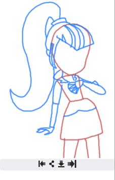 How 2 Draw Equestria Girls apk screenshot