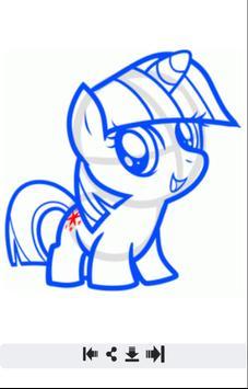 Learn to Draw My Little Pony screenshot 3