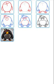Learn How to Draw Angry Birds apk screenshot