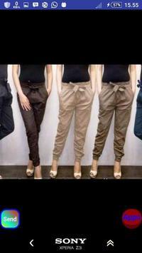 Celana panjang wanita screenshot 13
