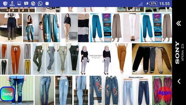 Celana panjang wanita screenshot 15