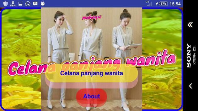 Celana panjang wanita apk screenshot