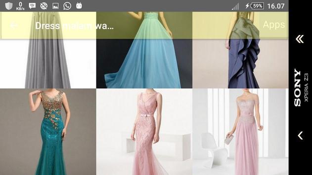 Inspirasi Gaun Malam Wanita screenshot 4