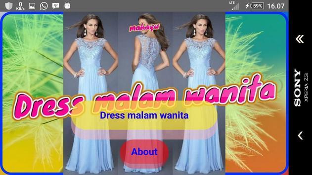 Inspirasi Gaun Malam Wanita screenshot 9