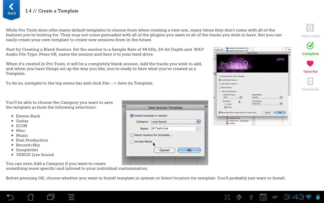 pro tools free download full version for android